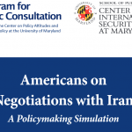 Here's how a policymaking simulation was used in the Iran study (video)