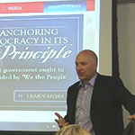 Students learn about Citizen Cabinet initiative at George Washington University