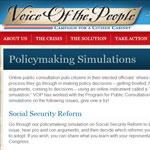 "How We Create ""Policymaking Simulations"""
