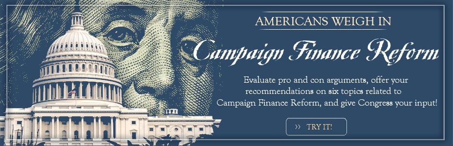 Campaign Finance Slider
