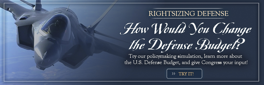 Defense Budget Slider